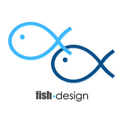 fish design for business, vector
