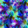 abstract purple, blue, green seamless texture watercolor brush s
