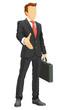 Faceless businessman