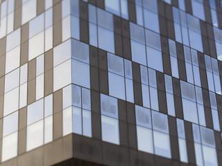 Modernes Bürogebäude im Glasdesign