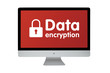 Data encryption. Keyboard