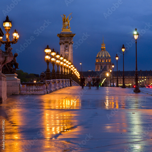 Bridge of Alexandre III ,  Paris, France