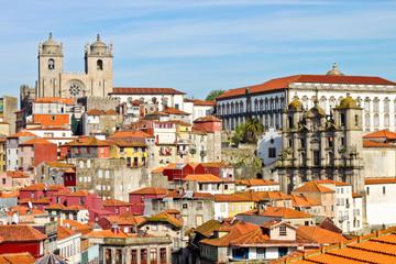 View of old Porto