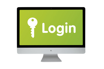 Login. Keyboard