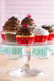 Plate with Christmas mini dessert - 59175490