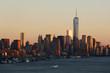 New York skyline Freedom tower