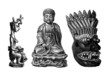 Traditional Asia : Arts - Religious Objects
