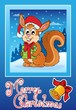 Christmas theme greeting card 8