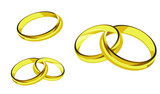 rings gold ring illustration
