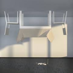 strange interior
