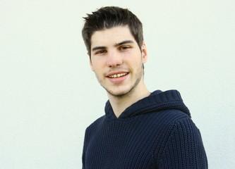 jeune 20 ans, souriant,portrait