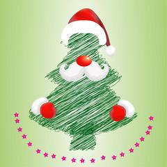 Векторная иллюстрация Рождество