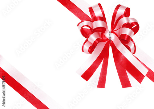 ribbon on a present box