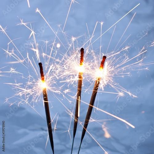In de dag Vuur / Vlam Sparklers