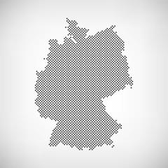 Karte Deutschland Punkte
