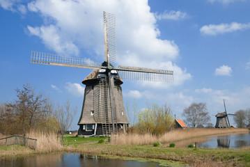 Landschaft in Nordholland nahe  der Käsestadt Alkmaar