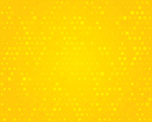Yellow background. Illustration.