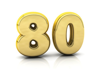 3d number eighty