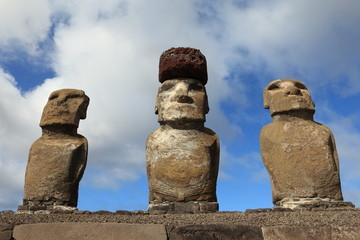 Osterinsel Moai Statuen