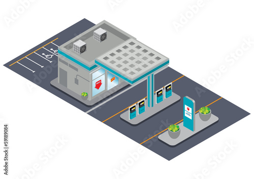 isometric station