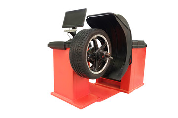 tyre fitting machine