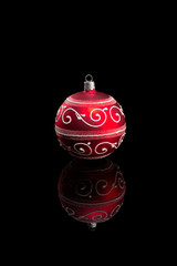Red Christmas Bauble.
