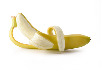 The rest of the banana