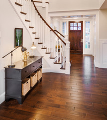 Beautiful  Entry in New Luxury Home
