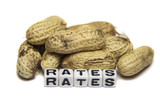 Poor rates with peanuts
