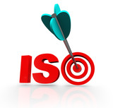 ISO Word Acroynm Target Arrow Certified Company