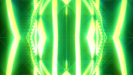 Motion abstract, futuristic light ornaments, HD 1080p, loop.