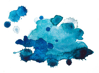 Watercolour blots