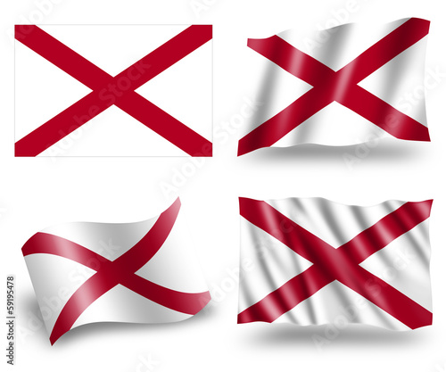 Flag of Alabama State