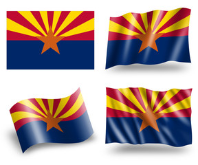 Flag of Arizona State