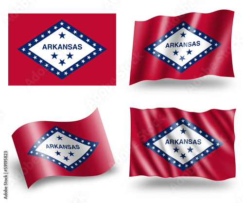 Flag of Arkansas State