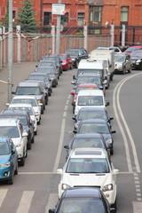 City street. Cars
