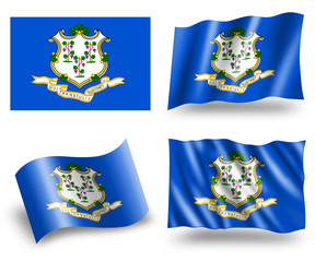 Flag of Connecticut State