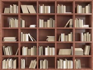 3d bookshelf