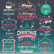 Christmas and New Year design elements