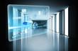 Global business hologram
