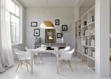 Fototapety Esszimmer in Altbau - dining room in Loft apartment