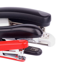 Three Staplers
