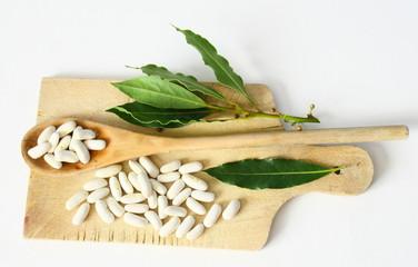 haricots blancs secs, mogette de vendée