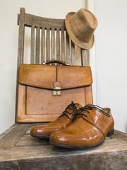 Vintage fashion bag , shoes ,hat  , accessories