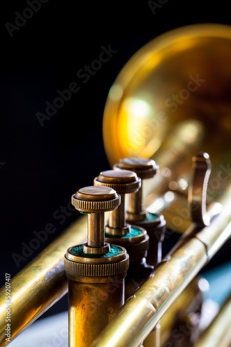 old trumpet