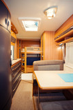 Dining Space in Modern Motorhome