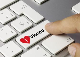 I love Vienna. Keyboard