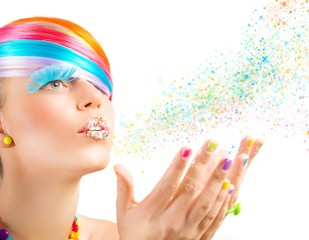 Colorful magic fashion