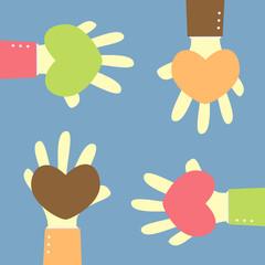 give heart