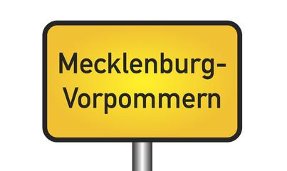 Mecklenburg-Vorpommern Sign